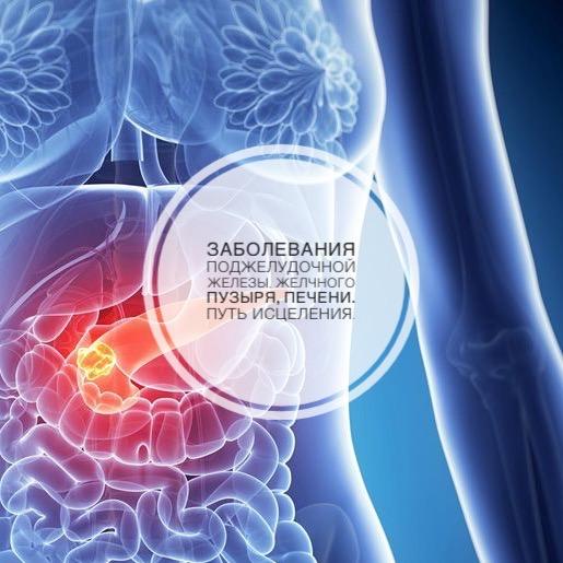 Заболевания поджелудочной железы, желчного пузыря, печени. Путь исцеления.